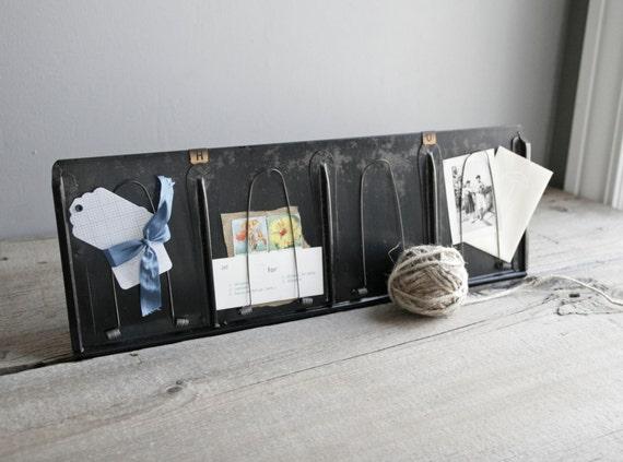 antique clip board display / inspiration board