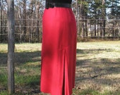 Be My Valentine Sexy 1980s High Waist Skirt