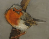 SALE - 4 for 3 -- BIRD -  Giclee print from my original oil painting -   Art
