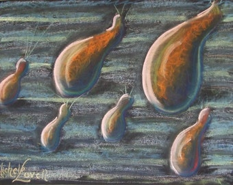 Traverse - ACEO Print from Original Pastel Drawing