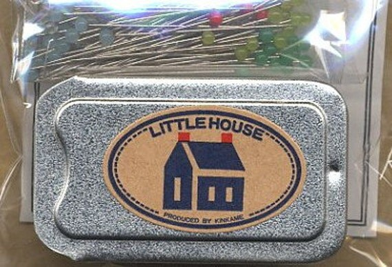 Little House Pins, by Kinkame Shigyo Co. LTD, quilting pins, 100 ct., 32 mm