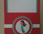 Princess Jasmine Pocket Invitations