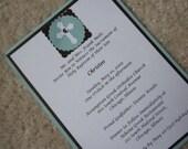 Religious Invitation or Announcement