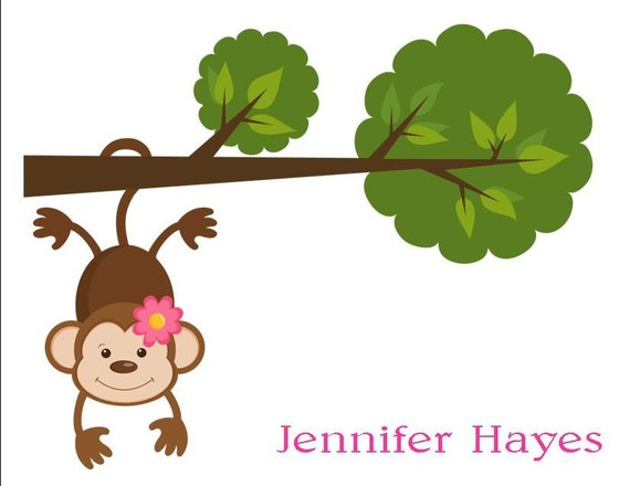 clipart monkey hanging from tree - photo #34