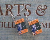 The Wizard of Oz Book Earrings - Surgical Stainless Steel