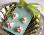 Amaryllis - romantic earrings Gift Set