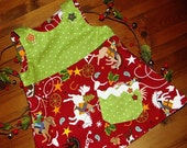 Cowboy Christmas Reversible Jumper for Toddler