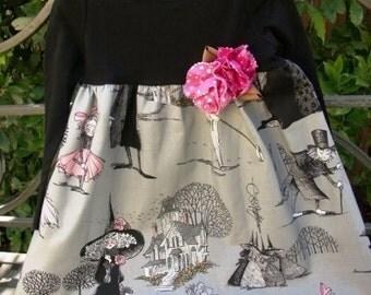Halloween Alexander Henry Ghastlies Print Tee Shirt Toddler Dress etsykids team