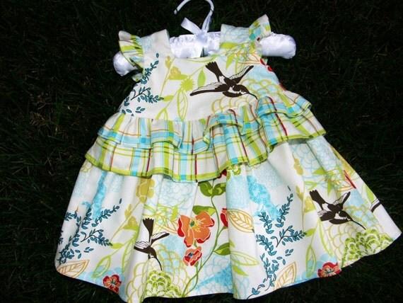 Spring Fever Infant and Toddler Dress etsykids team