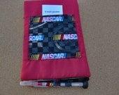 Nascar Theme Steno Pad Cover