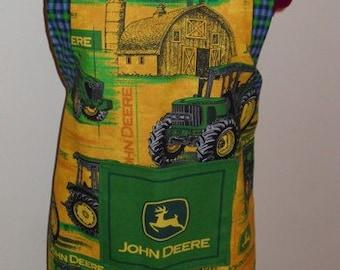 John Deere Themed Adult Cooking Apron