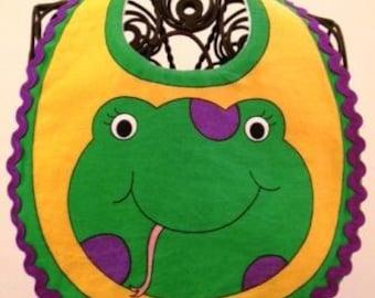 Frog Infant Baby Bib