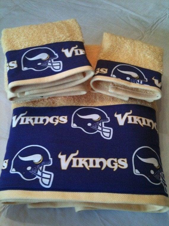 Minnesota Vikings Bath Towel Set All Teams Available Great