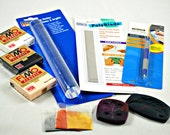 Polymer Clay Deluxe Starter Kit in Neutral Colors - Fimo Clay and Tool - Do it yourself - Includes How-To-Instructions