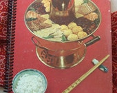 Cooking of China , Recycled Vintage Book into Journal/Sketchbook