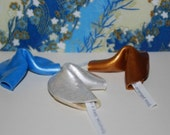 20 Clay fortune cookie favors for Wedding,Shower,Party