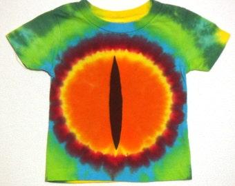 Dragon Eye Tie Dye T-Shirt Size 12 months