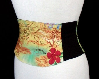 African Safari Corset Belt - Waist Cincher Any Size B