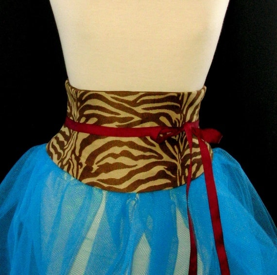 Waist Cincher Corset Belt Sexy Animal Print B CLEARANCE