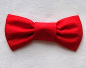 RESERVED FOR davekorkoian ONLY - Red Pet Bow Tie (M)