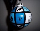 Mod Birdy Christmas Ornament
