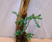 Green Beaded Dreaming Tree