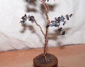 Snowflake Obsidian Dreaming Tree