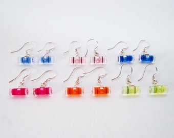 Level With Me - Mini Bubble Level Earrings