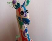 Giraffe Soft Toy Small- Animals Fabric