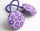 Ponytail Holders, Purple, Hair Accessories