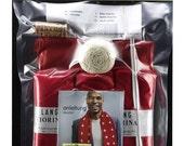 Knit Kit swiss fan scarf
