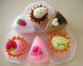 Felt Cakes and Tarts Pattern PDF