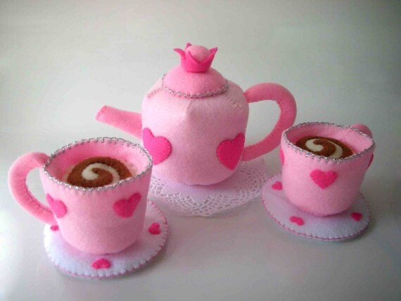 Princess Tea Party Sewing Pattern PDF (Tea cup and pot)