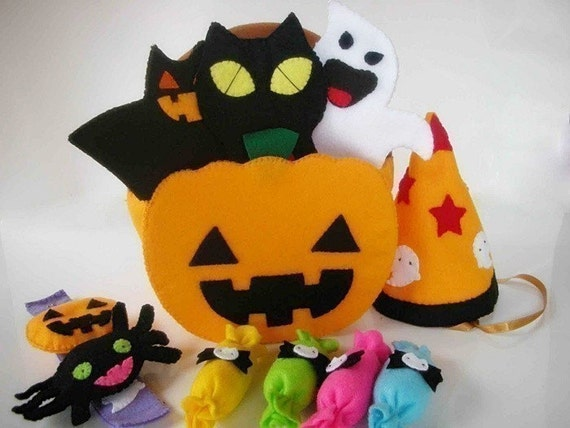 Halloween Festival Kid Set Pattern PDF