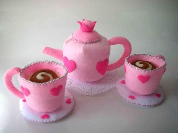 Princess Tea Party Pattern PDF (Tea cup and pot)