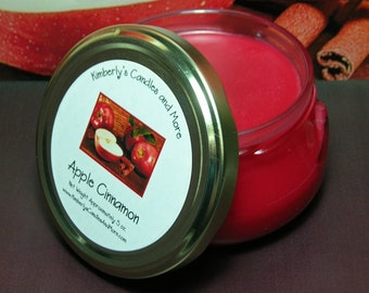 Apple Cinnamon Wickless Candle *ON SALE*