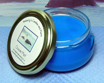Ocean Mist 6 oz. Tureen Jar Wickless Candle