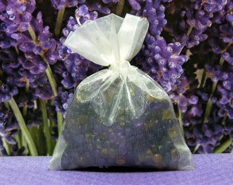 Herbal Lavender and Lemongrass Aroma Bead Sachets (Set of 2)  GREAT IN The CAR Air Fresheners