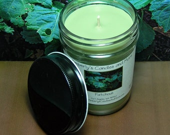 Patchouli PURE SOY Mason Jar Candle