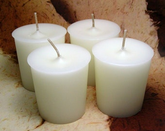 Coconut Votive Candles PURE SOY (Set of 4)