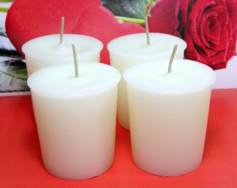 Love Spell (TYPE) PURE SOY Votives (Set of 4)