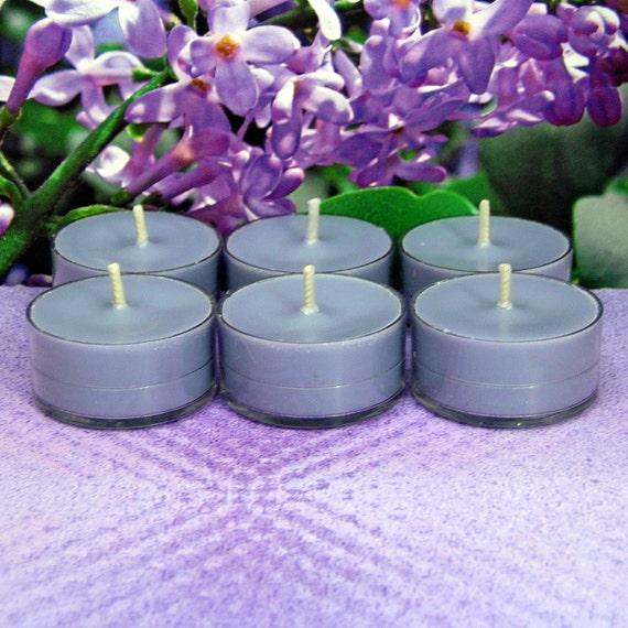 Lilac PURE SOY Tea Lights (Set of 6)
