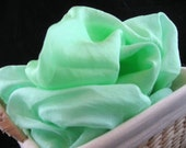 Playsilk 35x108 inches Green Koolaid Dyed