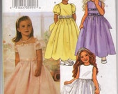 3704 Butterick  Dress Sizes 2 to 5