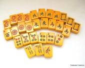 Vintage Bakelite Mahjong Tiles