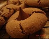 Nutella Blossom Cookies