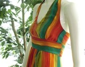 The Parrots of Telegraph Hill Maxi Dress - custom sizes and colors