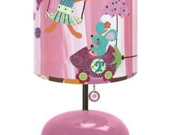 cottom candy circus lamp