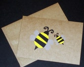 Baby and Mommy Bee Card