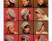 Five Fair Isle Tam Hats PDF Vintage Knitting Pattern